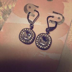 Lia Sophia 💎 Gemstone Dangle Earrings